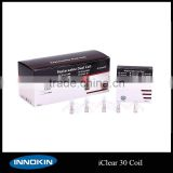 Innokin Coils For iClear 30 Clearomizer Rebuildable Dual Coil Head Atomizer 1.5ohm 2.1ohm Coil Heads