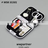 Mini Professional Travel Sewing Kit Set Wholesale Free Sample                                                                         Quality Choice