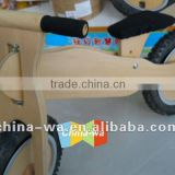 new wooden balance bicycle or bike toy for children