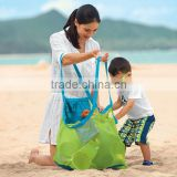 High quality Big Mesh Tote Bag/Beach toys Bag /Baby Toy Collection Bag