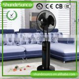 Adjustable humidifier stand fan, electric wall fans with remote control with timer setting made in China