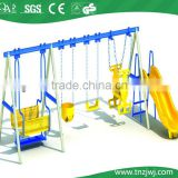 indoor and outdoor plastic playground swings slides for child, plastic playground swings slides guangzhou