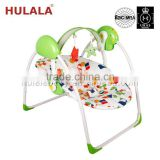 baby swing chair swing bed with canopy Best selling high quality with plastic shell seat en16232