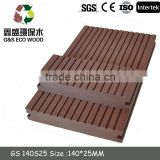 WPC outside decking /WPC decking Manufacturer/Popular WPC decking