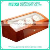 Excellent Glossy Wooden Watch Packaging Box,excellent wooden watch box,Luxurious motor wooden electric watch box