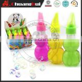 70ml Calabash with Whistle Blow Bubble Water Toy
