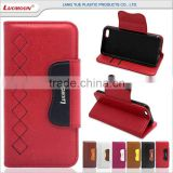 hit color wallet style leather case for moto x play gp328 plus walkie talkie G X E 1 2 3 4 mini