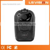LS VISION 140 Degree Wide Angle Shenzhen Body Camera Manufacturers 16MP Video and Audio Recorder Large Capacity Battery