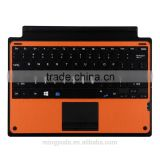 touchpad function wireless bluetooth keyboard for microsoft surface pro 4