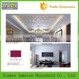 Hot selling china home decor wholesale environmental 3d polyurethane ceiling tile