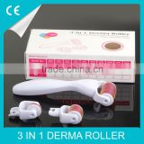 Microneedle Roller 2015 Amazing MTS 3in1 Body Roller With Cellulite Removal 1200 Needles Derma Rolling System For Cellulite Acne Microneedling Dermaroller