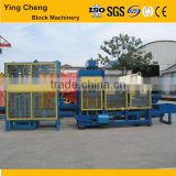 2015 best quality hydraluic blokc machine QT4-18 automated hollow red brick making machinery