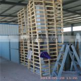 powder coating line for wire hanger