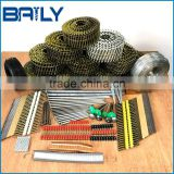 factory hot sales Welded wire ring coil nails/bulk nails for automatic pallets machines in Africa, Middle East market