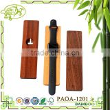 Aonong bamboo-based stands for Apple watch