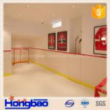 UHMWPE synthetic ice rink, Customized hdpe hockey board/ thermoforming HDPE sheet/ ice skate panel