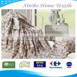 2015 Wholesale Warm Bedding Set China Home Textile100% Polyester Knitted Coral Embossed Patterned Fleece Blanket