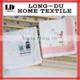 cartoon design customized soft baby cotton gauze handkerchief