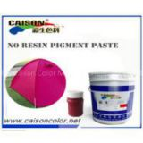Red violet water based pigment paste without resin,latex gloves tinting pigment preparation with free samples