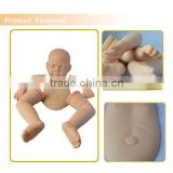 Doll manufacturer silicone doll kits, bebe reborn silicone, reborn baby doll kit