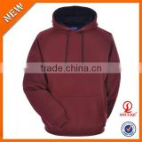 Men's clothing custom wholesale embroidered 100 cotton young men gym hoodie offer sample