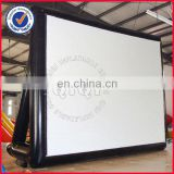 Outdoor cinema inflatable movie screen for sale