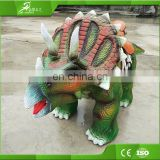 KAWAH Animatronic kiddie ride walking robotic dinosaur rides