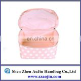 2013 china small cosmetic bags with compartments
