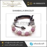 2016 New Varieties of Superior Finish Shamballa Bracelet for Young Women