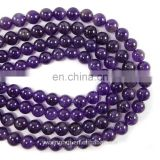 natural round amethyst bead from china manufacture