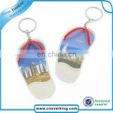 Custom custom digital photo frame keychain for promotion