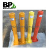 Steel pipe bollards for protect buildings