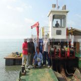 River Sand Suction Cutter Dredger Image