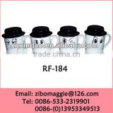 Wholesale Belly Shape White Ceramic Cup with Hat for Promotion Ceramic Coffee Carton Cup