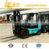 Small cargo handling tools manual work tractor forklift for port and pier using