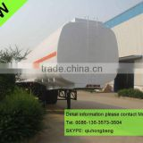 China carbon steel 40000-60000L 3 axles tanker semi trailer with air suspension 0086-13635733504