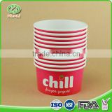 Wholesale custom size disposable paper ice cream cup for sale                                                                                                         Supplier's Choice