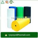 waterproof hard plastic pp polyethylene sheet roll with assorted color                                                                         Quality Choice