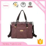 Thailand top sale canvas beach tote bag designerwomen canvas handbag woman fashion handbag