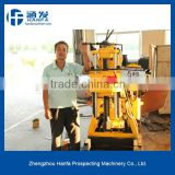 Hard Rock Driller! HF200 water drilling rig machine