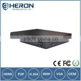 4Ch DVR HDMI CCTV AHD DVR 1080P NVR H.264 digital Video Recorder ONVIF for security CCTV camera                                                                         Quality Choice
