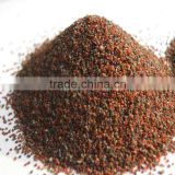 reddish brown Garnet Sand 30/60Mesh For Sand Blasting