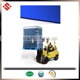 colorful pp corrugated plastic pallet layer pad for colorful bottle layer pad