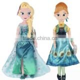 New Arrival frozen Fever 40cm boneca Doll Princess Anna and Elsa Dolls for girls Toys Children gift doll plush