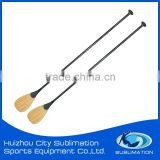 Wholesale Carbon Fiber Bamboo Veneer SUP Board Paddles /ISUP Paddle