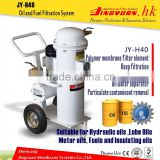 Convenient lube oil purifier/used hydraulic oil treatment for Power Plant
