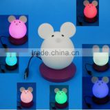 silicone soft night light