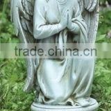 Joseph Studio Praying Angel Kneeling on Pedestal Statue