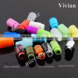 Plastic drip tip silicone rubber 510 drip tip wholesale drip tip vape 21 colour in stock