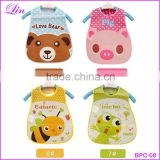 Fashion Cartoon Baby Soft Bibs Waterproof Cartoon Bib Burp Cloths For Children Self Feeding Care